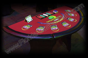 poker table rental